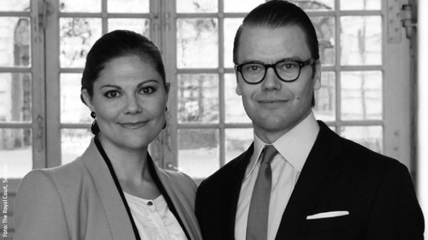 Nouvelle photo officielle du couple héritier
