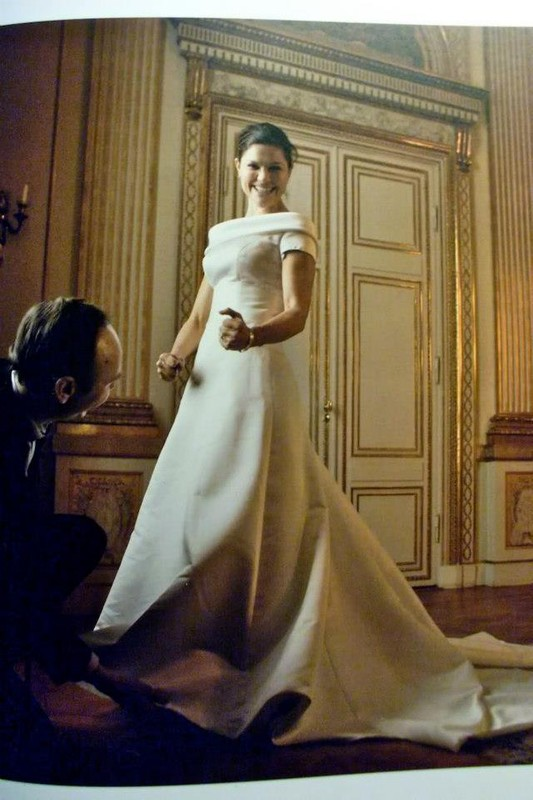 3c1e6e5e836 La robe de mariage de Victoria