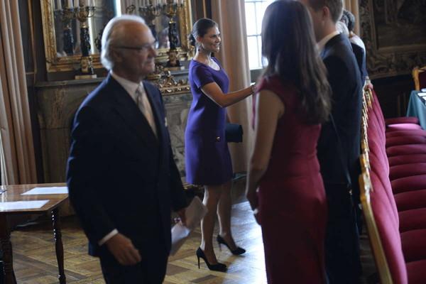 Premier conseil avec le nouveau Gouvernement suédois