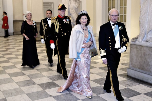 Królowa Sylwia w Christiansborgu