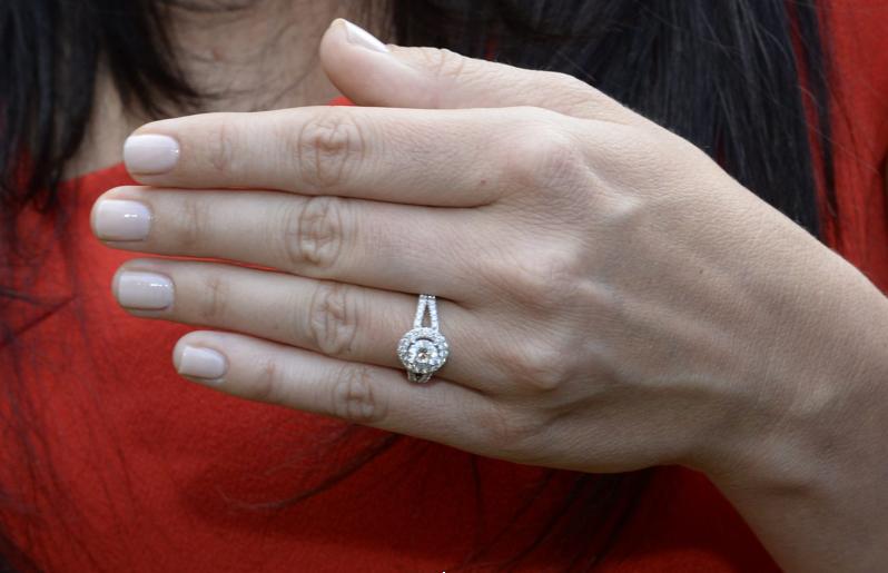 Populaire Retour sur la bague de fiançailles de Sofia GN68