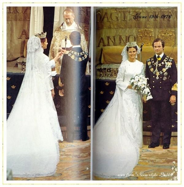 1f2f0f9fbfb La robe de mariage de la reine Silvia