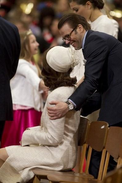 Une reine et son gendre...