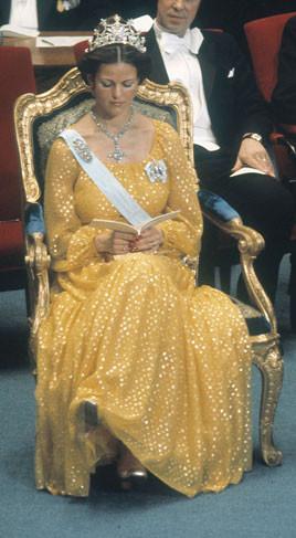 Décembre 1976, premières festivités Nobel...