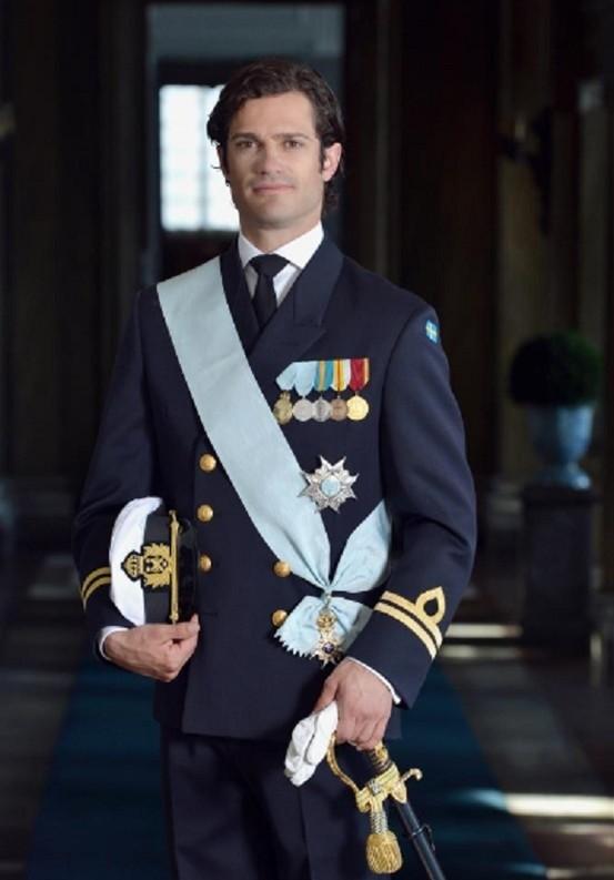 Le prince Carl Philip