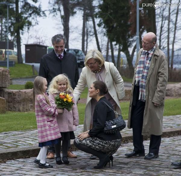 La princesse Victoria, les petites filles aux fleurs...