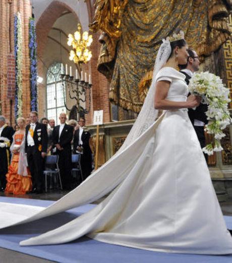Princesse Maxima Maxima-robe de mariée rétro